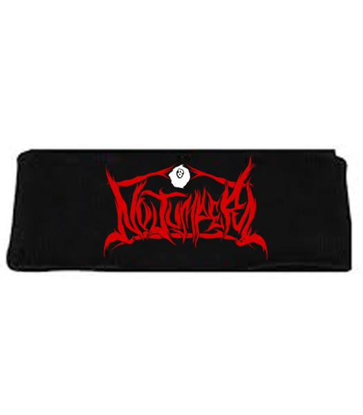 NO JUMPER x SECTION8 BLACK HEADBAND