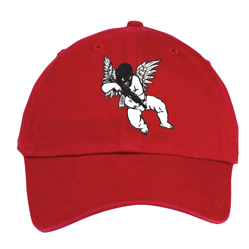 CHERUB DAD HAT - RED