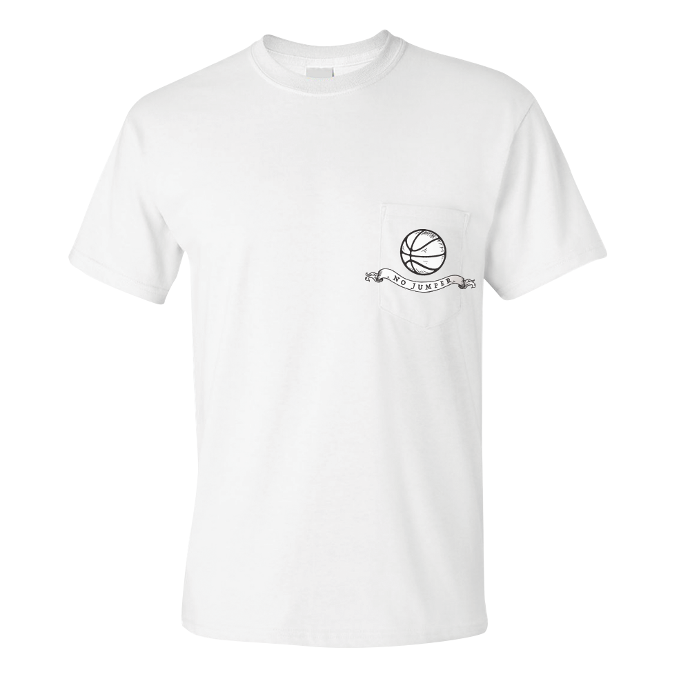 CHERUB POCKET TEE - WHITE