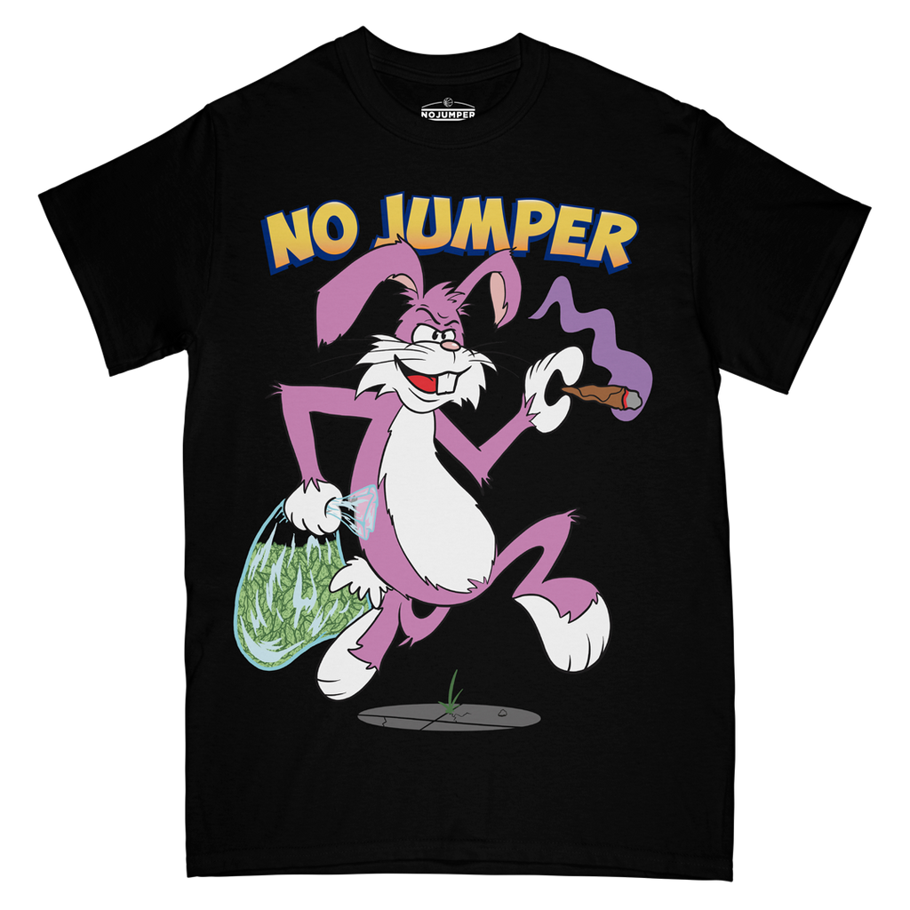 TRAP RABBIT TEE - BLACK