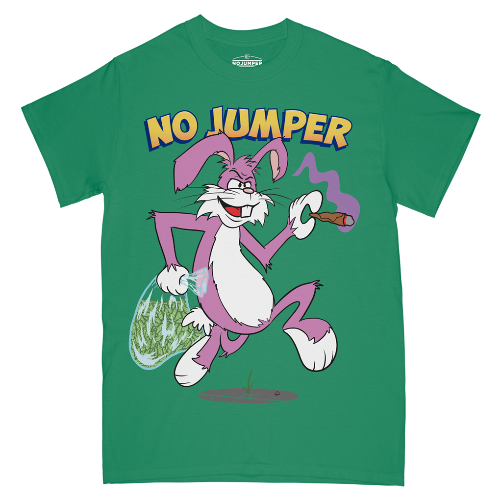 TRAP RABBIT TEE - GREEN