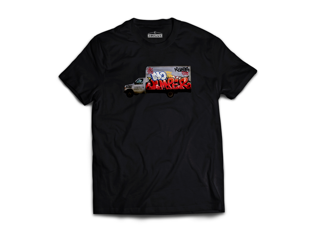 TOY TRUCK TEE - BLACK