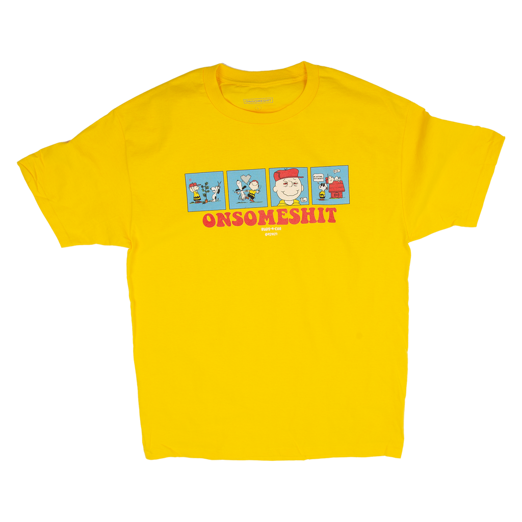 OSS - 420 HITS DIFFERENT tee - yellow