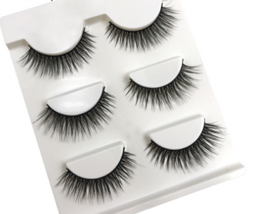 Mink False Eyelashes- 3 pairs