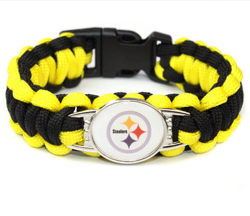 NFL Braided Bracelet