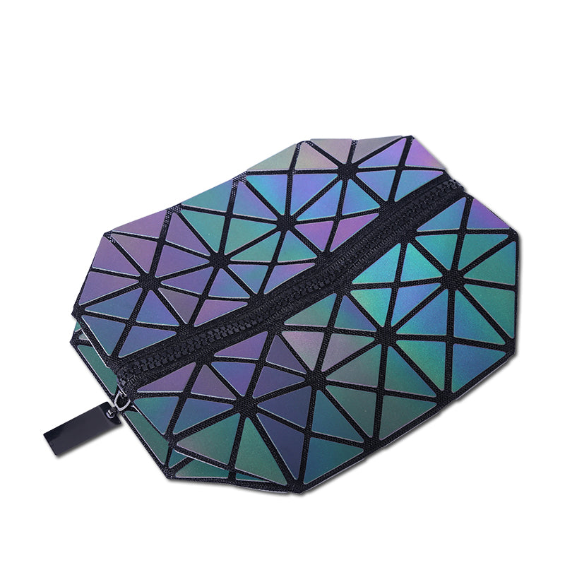 Geometric Travel Cosmetic Makeup Bag