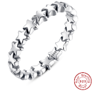 Stackable Star Trail Ring