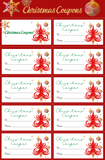Christmas Coupons (2 designs)