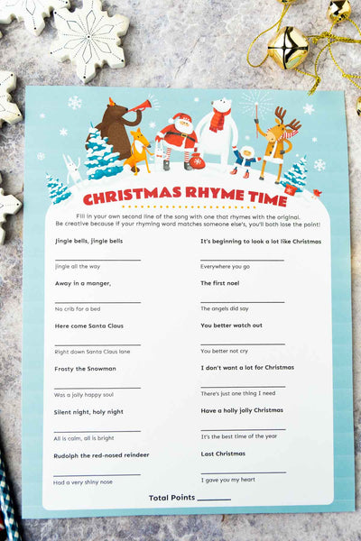 Christmas Rhyme Time