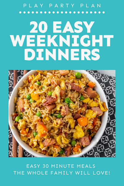Weeknight Dinners eBook
