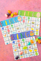 40 Easter Bingo Cards