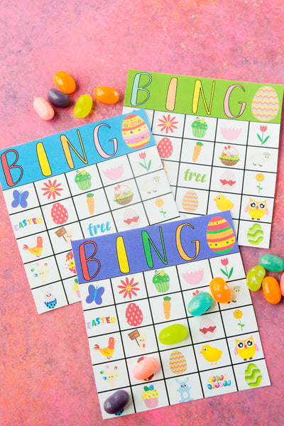 Easter Bingo Cards (12-40 cards)