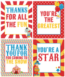 Circus Party Favors/Gift Tags (8 designs!)