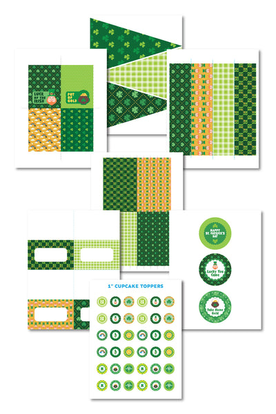 St. Patrick's Day Printable Decorations (17 pages)