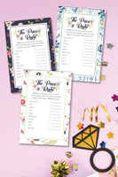 Bridal Shower Price is Right Game (3 designs!)