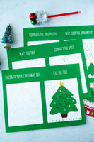 Christmas Activity Packet (6 pages)