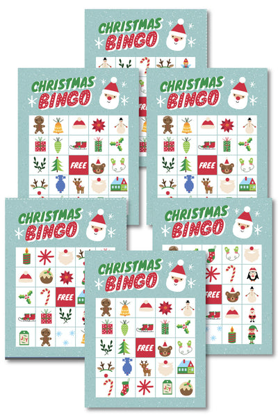 Christmas Bingo (up tp 40 cards)