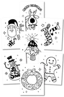 Christmas Coloring Pages (10 pages)