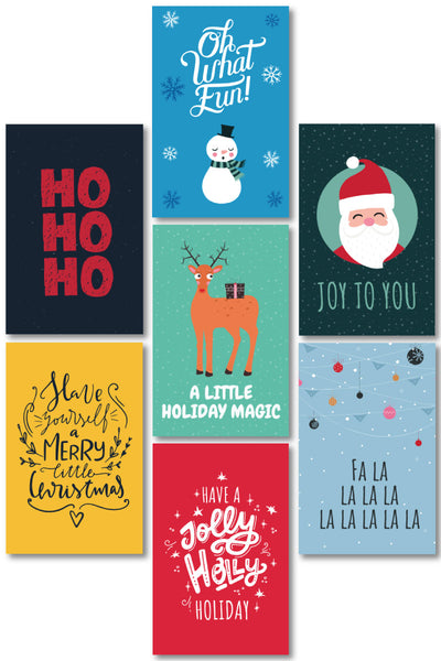 Christmas Gift Tags (16 designs)
