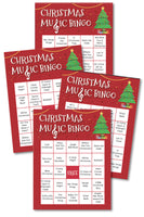 Christmas Music Bingo (up to 40 cards)