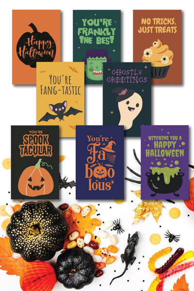Halloween Gift Tags (8 designs)