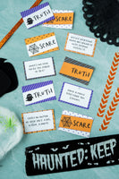 Halloween Truth or Scare Game (100 cards)