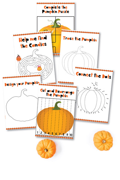 Pumpkin Activity Packet (6 Pages)