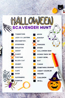 Halloween Seek & Find Scavenger Hunt (2 hunts)