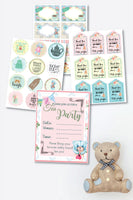 Teddy Bear Tea Party Pack