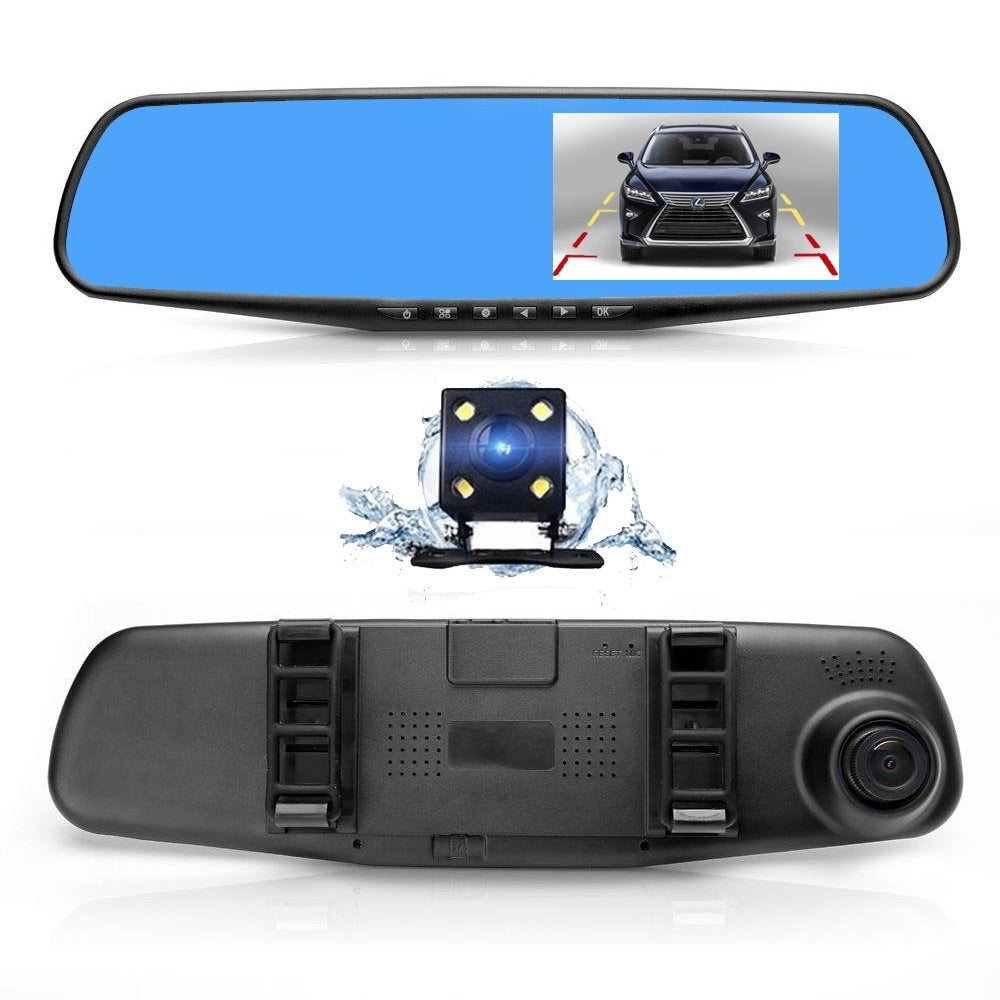 Ultra HD Dashcam Mirror
