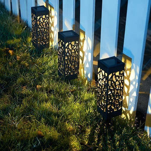 Moroccan Tower Solar Lanterns