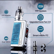 Load image into Gallery viewer, Voopoo Drag 3 177W Mod Kit with TPP Tank Atomizer 5.5ml