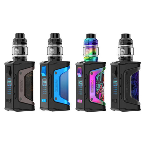 Geekvape Aegis LEGEND 200W TC Kit With Zeus Tank | Limited Edition