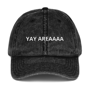 YAY AREAAAA Embroidered Dad Hat