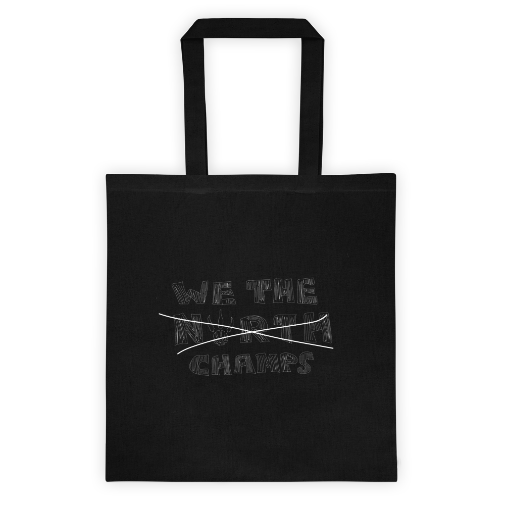 We The Champs Tote Bag