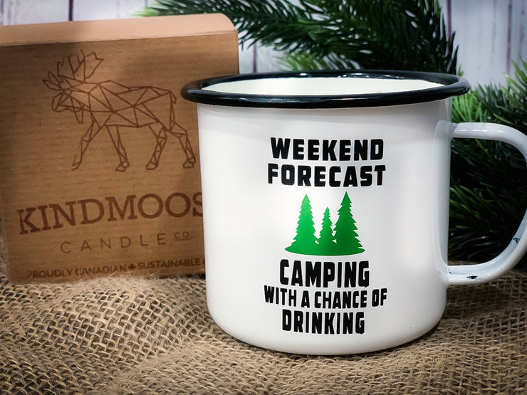 Weekend Forecast - Camping With A Chance  Of Drinking