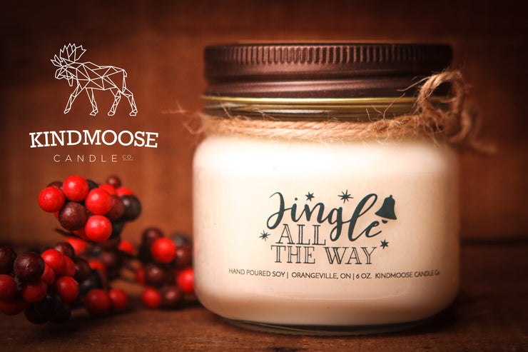 Jingle All the Way -Soy Candles