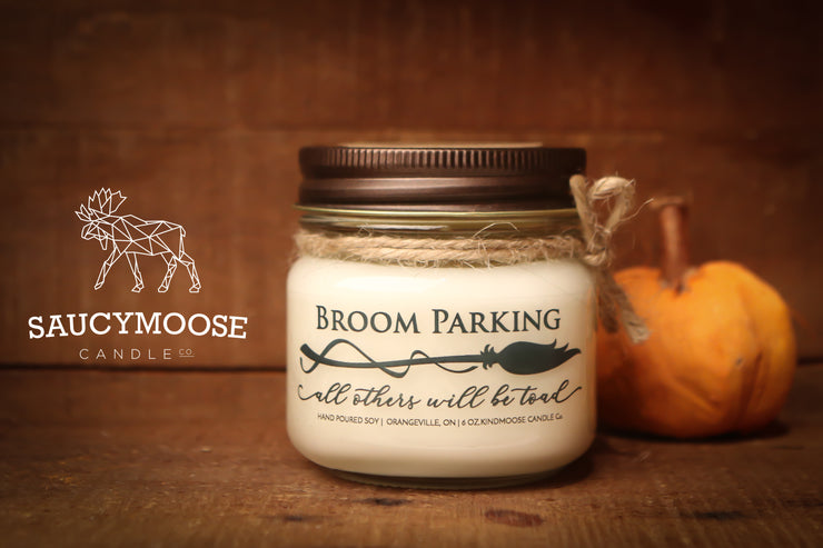 Broom Parking - All others will be Toad -Soy Candles
