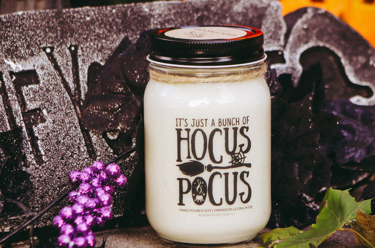 It's Just a Bunch of Hocus Pocus -Soy Candles  hand poured in Canada