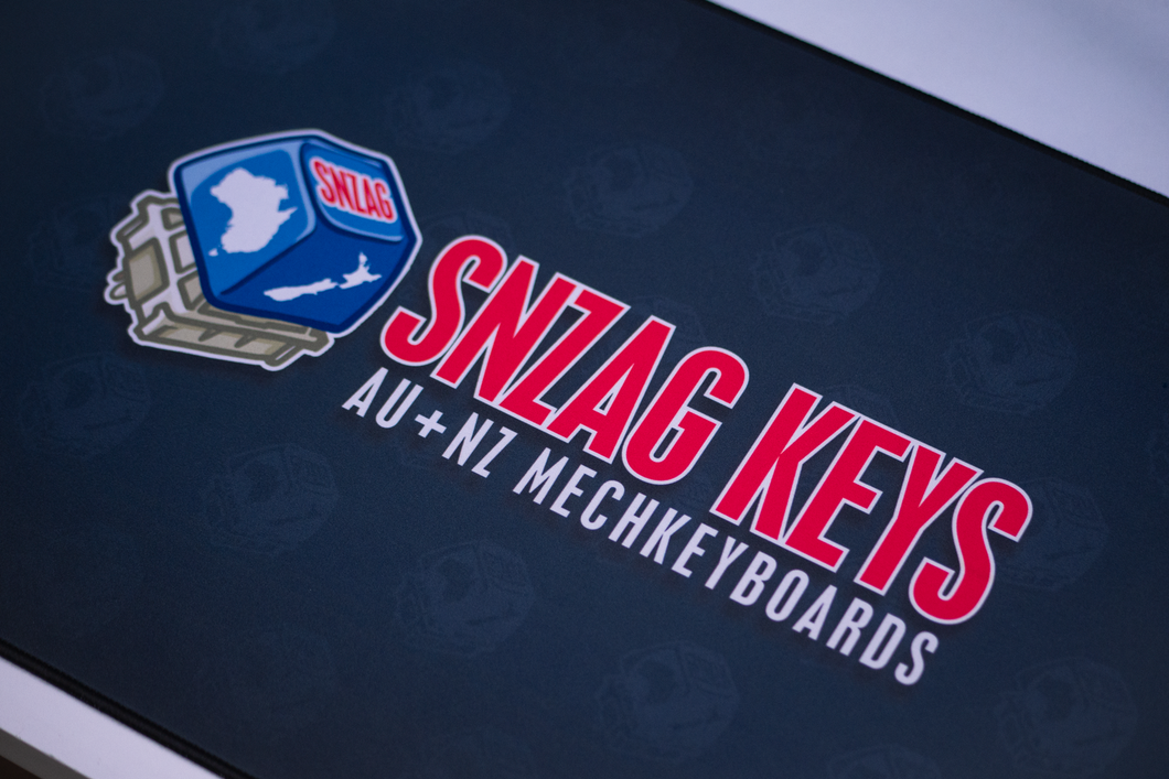 SNZAGKEYS Desk Mat