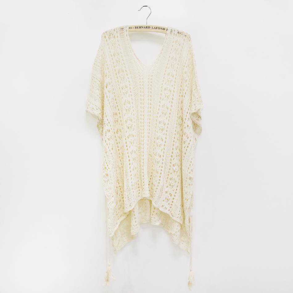 f5b74d4eec Crochet Knitted Beach Cover Up - Soo Boho Boutique