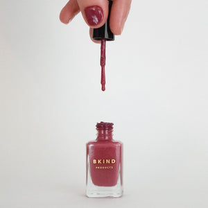 BKIND Nail Polish -Smokey Rose