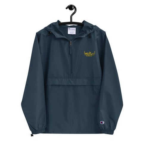 [NEK.T] HUGHPHORIA Embroidered Champion Packable Jacket