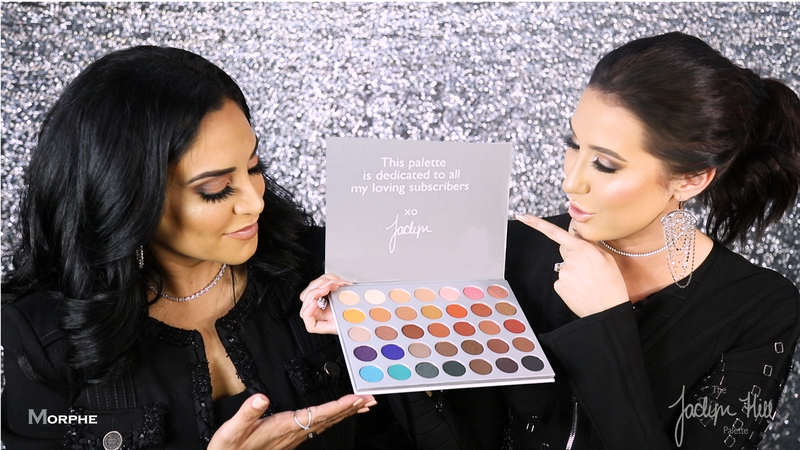 The Jaclyn Hill Palette BTS with Linda Tawil and Jaclyn Hill