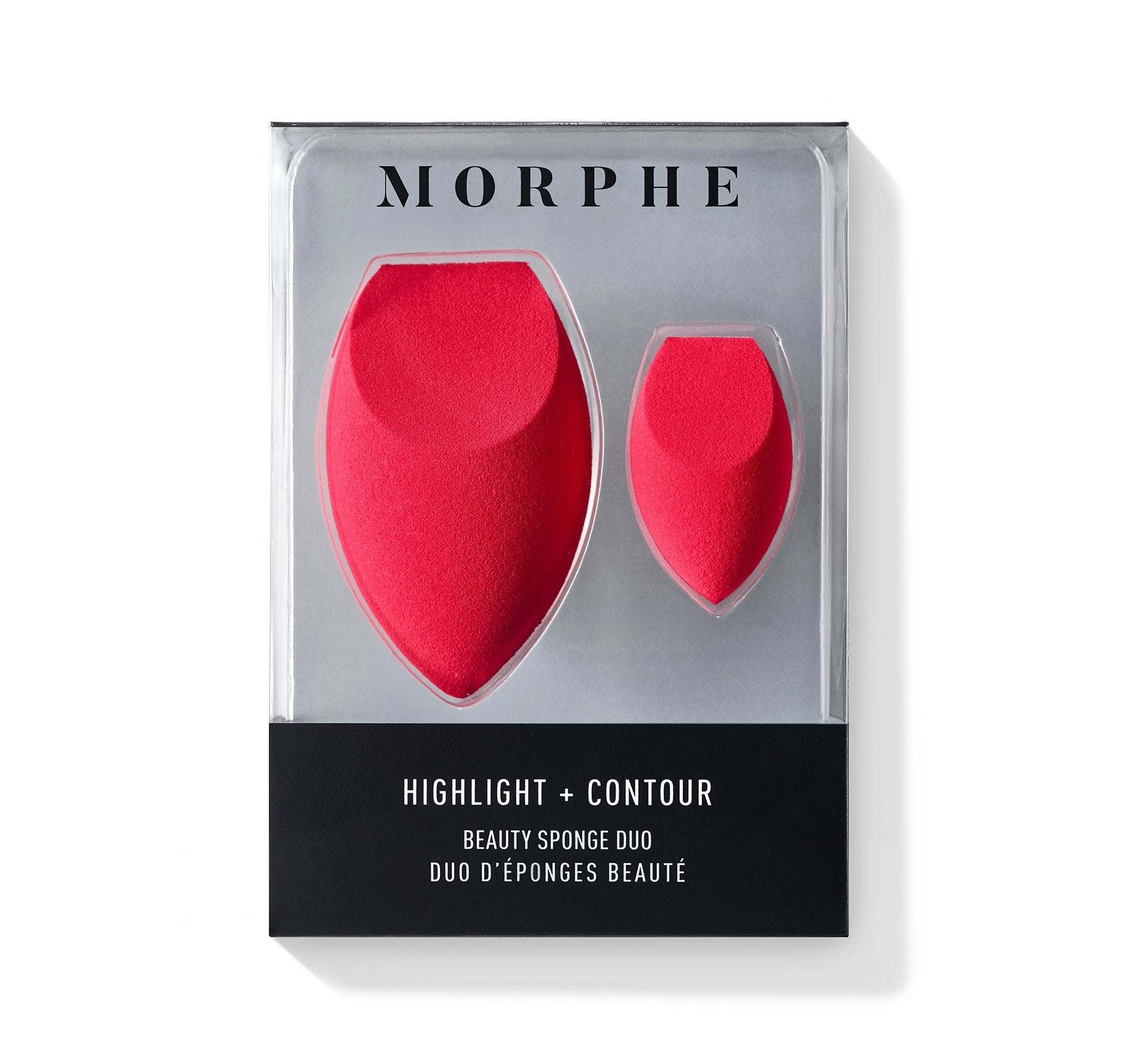 HIGHLIGHT + CONTOUR BEAUTY SPONGE DUO, view larger image