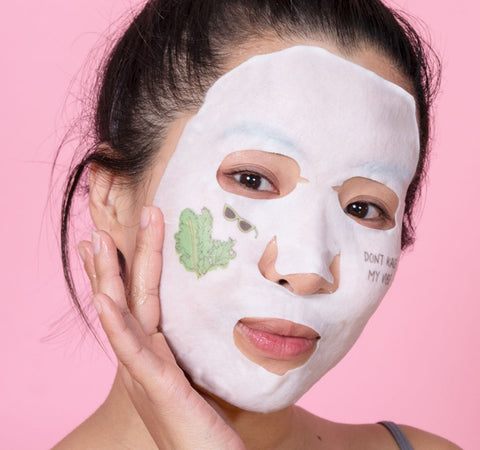KALE + VITAMIN B FRESH-PRESSED SHEET MASK