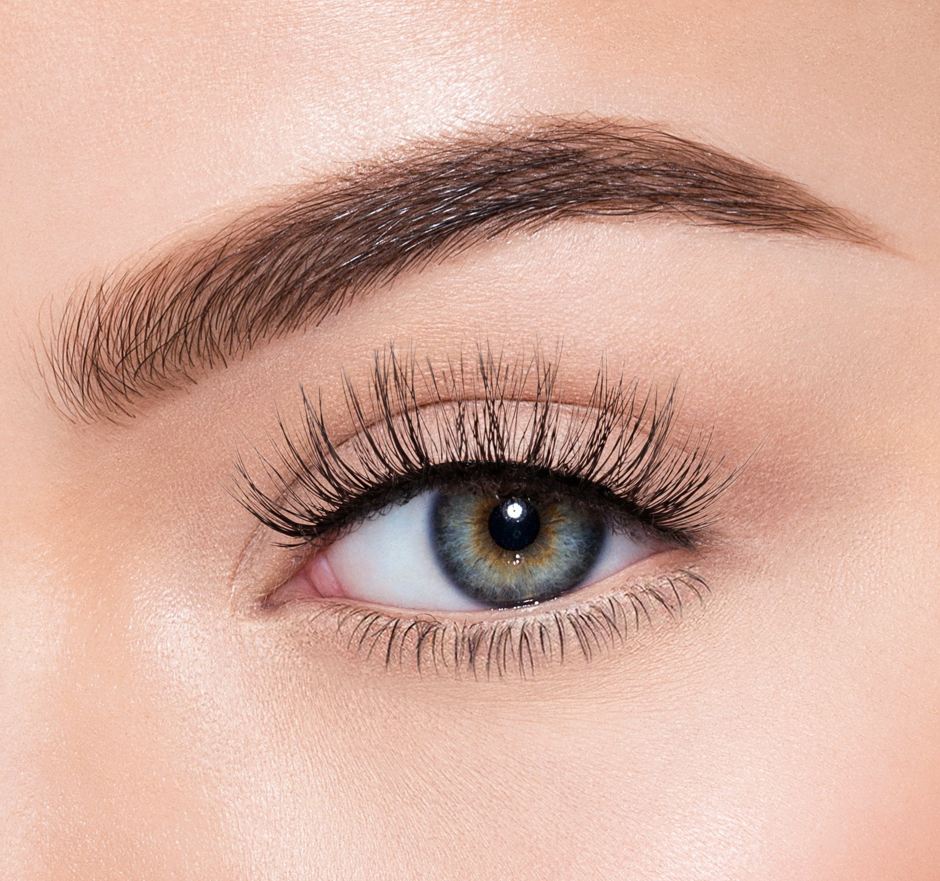 PREMIUM LASHES - A LIL' EXTRA ON MODEL, view larger image
