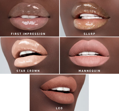 MORPHE X JEFFREE STAR ICONIC NUDES LIP COLLECTION ON MODEL