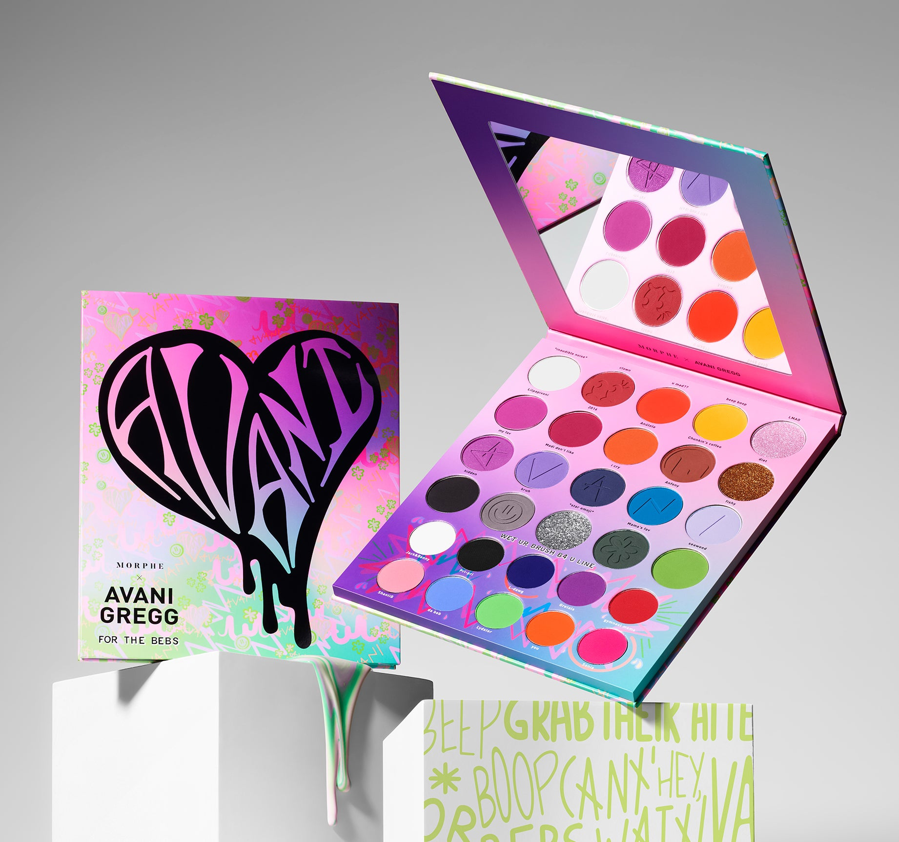 MORPHE X AVANI GREGG FOR THE BEBS ARTISTRY PALETTE, view larger image