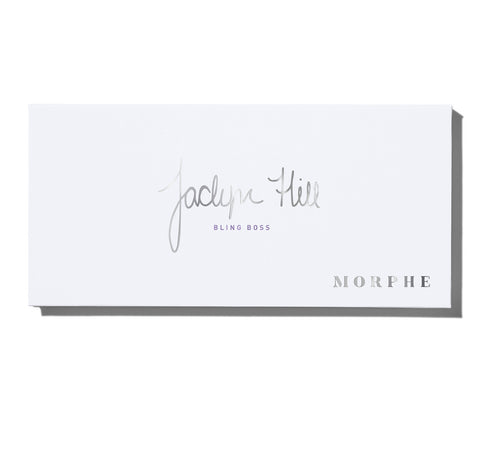 MORPHE X JACLYN HILL BLING BOSS EYESHADOW PALETTE PACKAGING